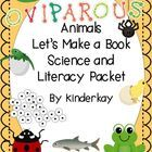 In this packet, students learn that animals that lay eggs are called oviparous. Students follow step by step illustrations to create a book that de...