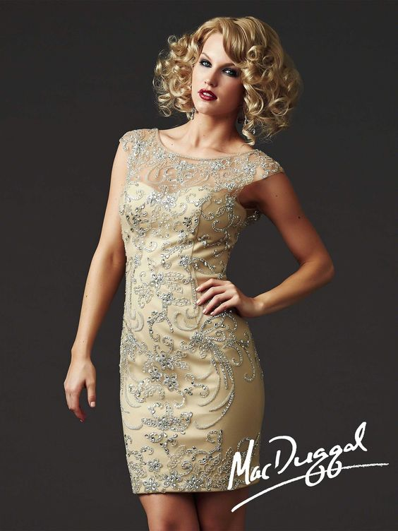 Mac Duggal Couture - Style 61444D $260.99 Mac Duggal Couture