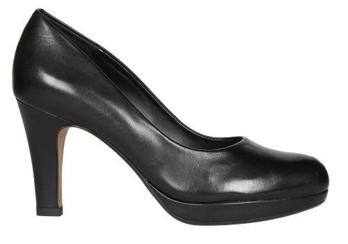 Zapato de salón clásico en piel de color negro
