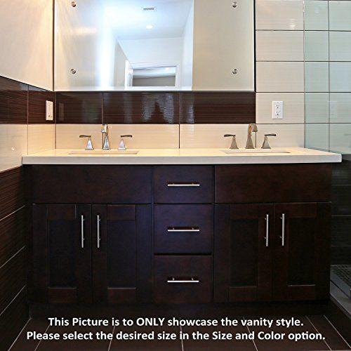 Special Offers Espresso Shaker 60 Vanity Double Sink