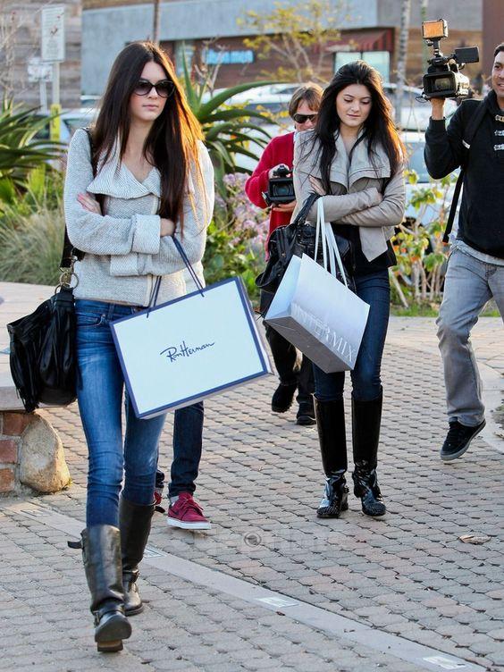 Kylie Jenner's delightful shoes