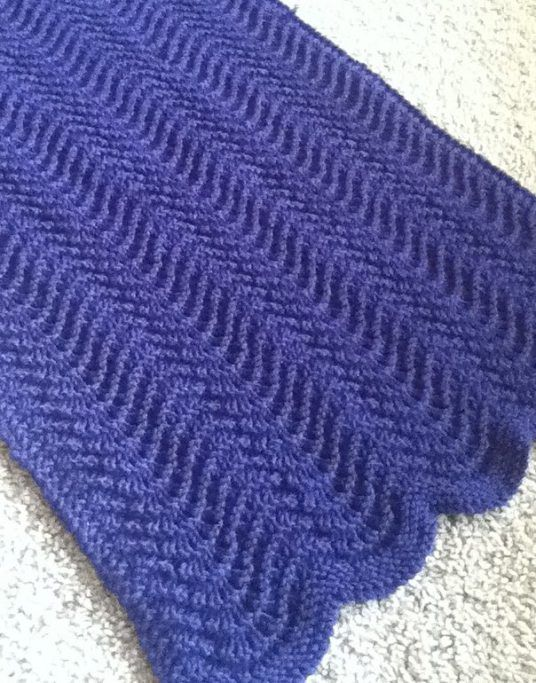 Baby Blankets in Bulky Yarn Knitting Patterns | In the Loop Knitting