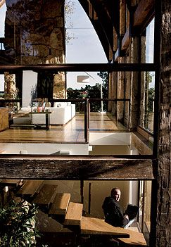 Ricardo Semler's house | timeless interior | nature interior