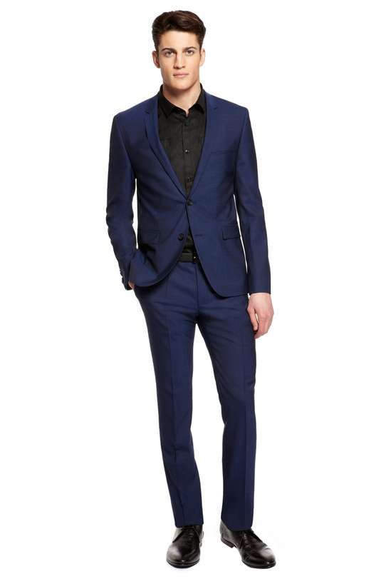 Hugo Boss | 'Adris/Heibo' Extra Slim Fit, Stretch Virgin Wool Suit
