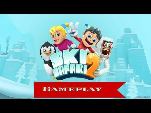 Ski safari 2 (gameplay) 175.000 punti - YouTube