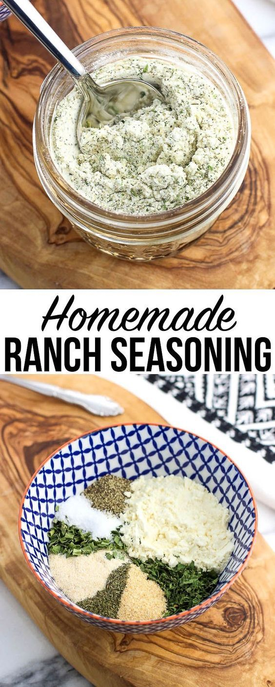 Ever Wonder How To Make Homemade Ranch Seasoning Dry Buttermilk Powder And Pantry Staple Herbs And Spi Homemade Ranch Seasoning Homemade Ranch Homemade Spices
