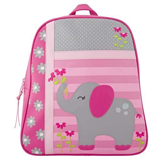 Girls Blue Preschool Toddler Kids Backpack /& Lunch Box Set Elephant