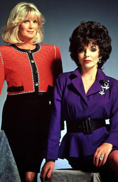 (Eighties - Dallas and Dynasty) - Dynastiet, Linda Evans og Joan Collins - R_27.12.2012