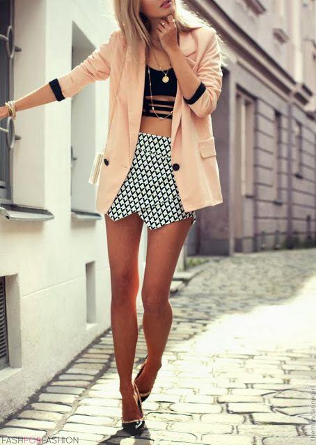 Mini + cutouts + bf blazer