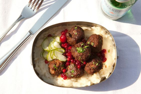Chef Marcus Samuelsson's Office Bag Lunch Helga's Meatballs