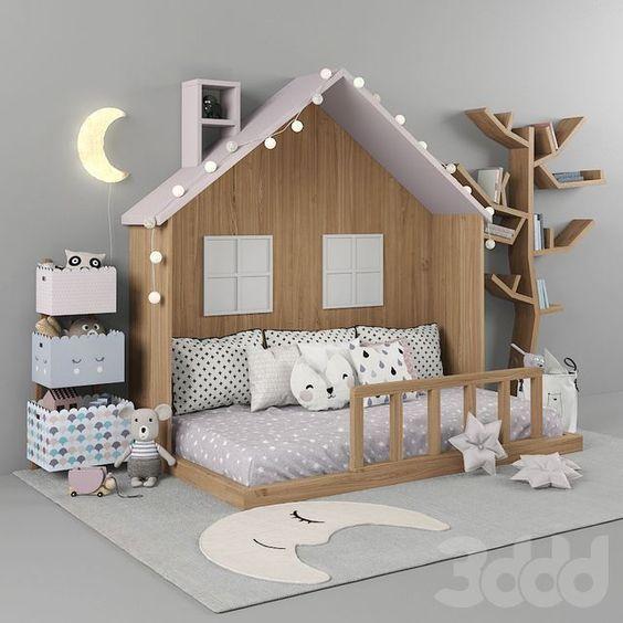48 Elegant Modern Farmhouse Style Bedroom Decor Ideas In 2020 Cool Kids Bedrooms Childrens Bedrooms Kid Room Decor