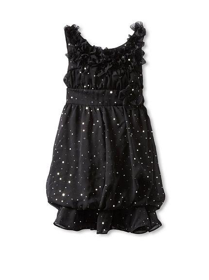 Hype Girls 7-16 Foil Dot Chiffon Dress at MYHABIT - Tweeney ...