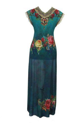 Swarovski Crystals and Lace Trim; Vintage Style Dress