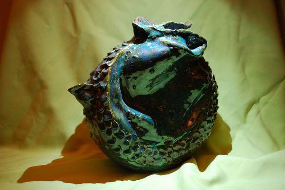Decorative Teapot by BravoCreations on Etsy, $40.00