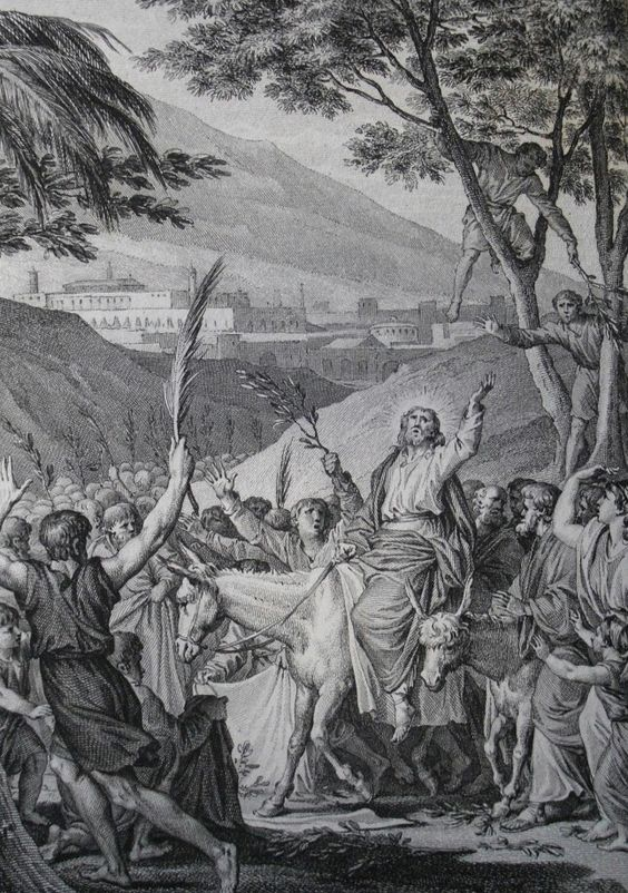 Entry into Jerusalem. Phillip Medhurst Collection