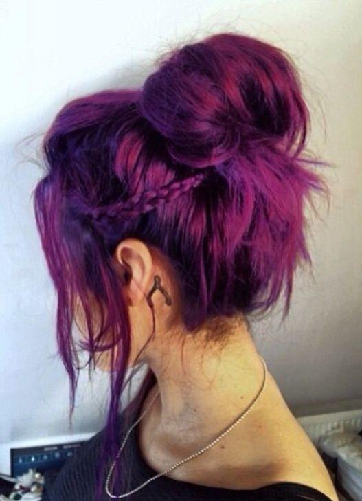 aubergine - Coloration Cheveux Aubergine
