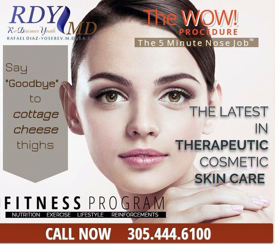 The WOW procedure! #The5MinuteNoseJob  305.444.6100