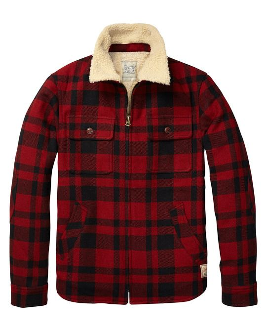 Lumber Jacket Mens Fashion Pinterest Jackets