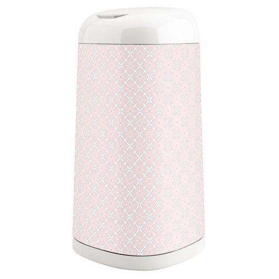 New Playtex Diaper Genie Expressions Pail Sleeve - Pink Starburst Model:24365980 - http://baby.goshoppins.com/diapering/new-playtex-diaper-genie-expressions-pail-sleeve-pink-starburst-model24365980/