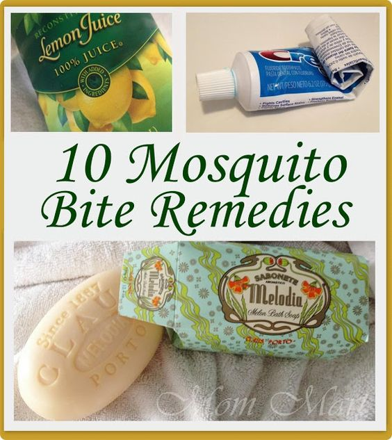 10 Mosquito Bite Remedies - Mom Mart THE TOOTHPASTE WORKED FOR ME!