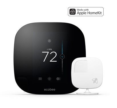 The smarter wi-fi thermostat with remote sensor.  Ordinary thermostats read the temperature in only one room, but are supposed to deliver comfort in all rooms. ecobee3 remote sensors deliver the right temperature in the rooms that matter most.