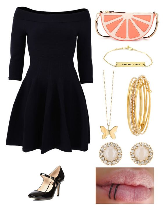 """First date"" by phya on Polyvore featuring Jonathan Simkhai, Dorothy Perkins, Kate Spade and Sydney Evan"