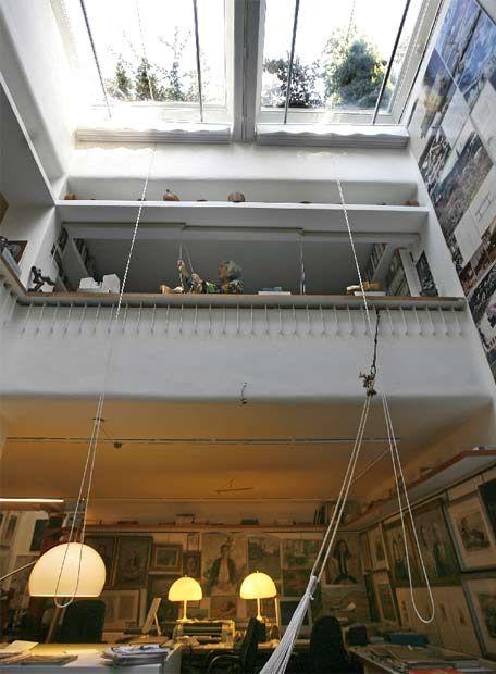 Casa subterranea. Fernando Higueras