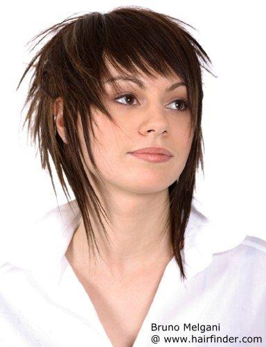 Pin by Meg Saunders on Squidd | Pinterest | Choppy Bangs, Bang Hair ...