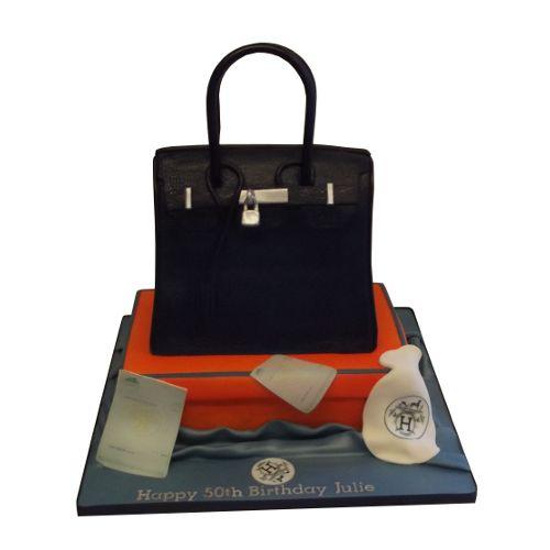 hermes birkin bag birthday cake
