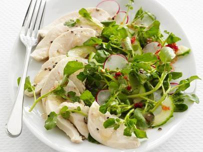Poached Ginger ChickenPoached Ginger Chicken #Protein #Veggies #MyPlate #FNMag
