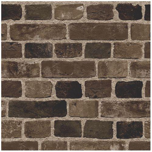 Fausses briques background pinterest couleurs peindre et briques - Tapisserie effet brique ...
