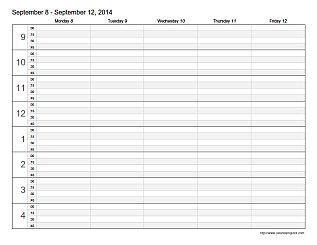 Appointment Scheduling Template | Teaching | Pinterest | Calendar ...
