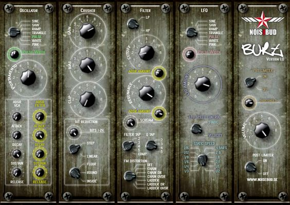 Burt By Noisebud