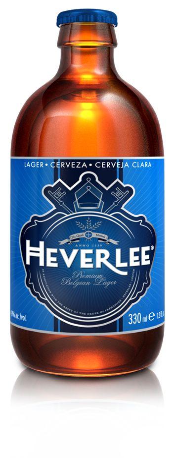 Bia Heverlee Belgian Lager 4,8% - Chai 330ml