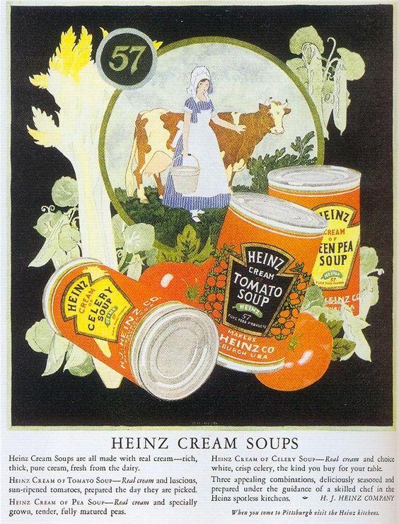 Heinz Cream Soups, 1924 by Gatochy, on Flickr