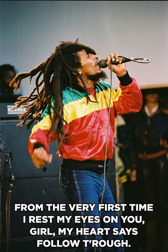 Everyone could benefit off these 15 Bob Marley Lyrics