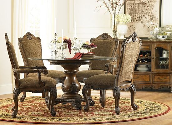 Dining rooms villa clare china cabinet dining rooms for Dining room tables havertys
