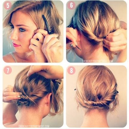 Pleasant Braids For Short Hair Short Hairstyles And Shorts On Pinterest Hairstyles For Women Draintrainus