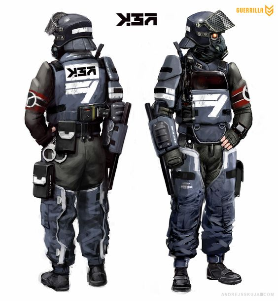 security killzone shadowfall concept art characters