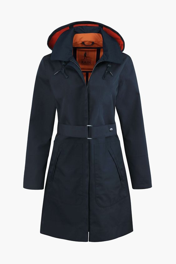 A thing of beauty - a long, waterproof, stylish raincoat! In Seasalt's unique…