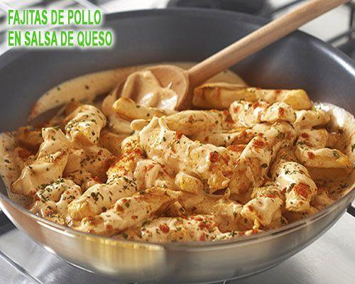 Fajitas Di Pollo In Salsa Di Formaggio Comidas Comidas Fajitas Formaggio Pollo Salsa Fajitas Di Pollo Fajitas Salsa Di Formaggio