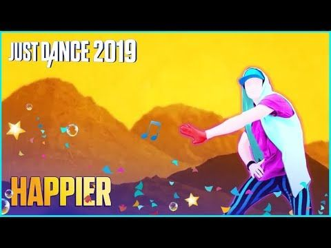 Just Dance Mashup Happier By Marshmello And Bastile Youtube In 2020 Just Dance Dance Happy
