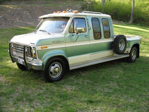 1986 Ford E350 Centurion Century Conversion Dually Truck Van Image 1 Dually Trucks Ford Van Trucks