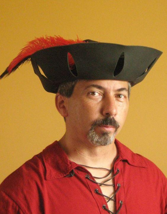 Medieval Celtic Renaissance Tudor Borgias Larp SCA Merchant Hat