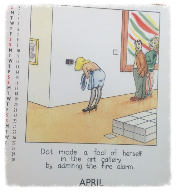 From an old DOT calendar from 2000
