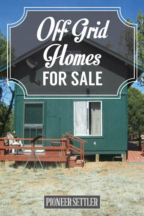 Off Grid Homes For Sale | Jake's Old West Properties - Click To Learn More
