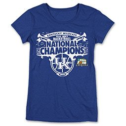 Congrats, Kentucky! Get your adidas Wildcats 2012 National Champions Women's #Tee at #FinishLine $20.00