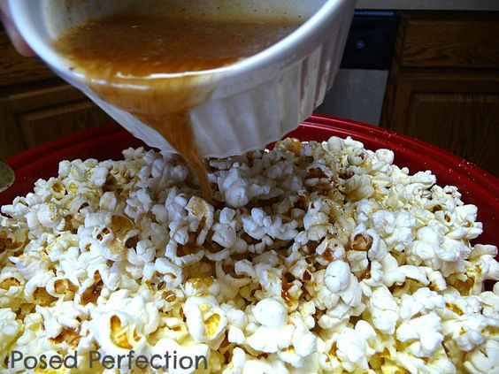 Sugar 'n' Spice Popcorn - Posed Perfection | Looks Edible | Pinterest...