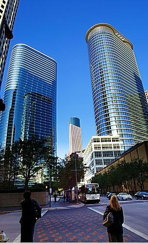 Downtown houston texas this was formally the for T shirt printing pasadena tx