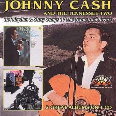 Johnny Cash - Get Rhythm/Story Songs of Trains & Rivers, Blue